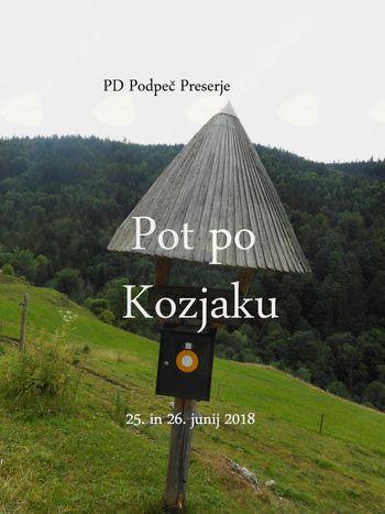 FOTOREPORTAŽA : PD na poti čez  Kozjak 24. in  25. 6. 2018