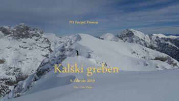 Fotoreportaža : PD na Kalškem grebenu, 9.2.2019