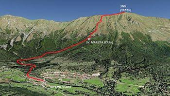 Planinski izlet na Stol  (Julijske Alpe – Kobariški Stol)