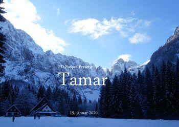 FOTOREPORTAŽA : PD na poti od Planice do Tamarja 19.1.2020