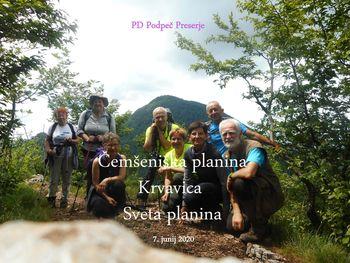 FOTOREPORTAŽA : PD iz Čemšeniške na Sveto planino 7.6.2020
