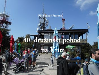 PD Podpeč Preserje  - 40. tradicionalni družinski pohod na Krim, 20.9.2020
