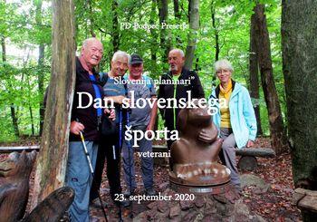 Aktivnosti planincev PD na Dan slovenskega športa, 23.09.2020