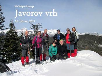 Planinski izlet veterani na Javorov vrh in Galetovec