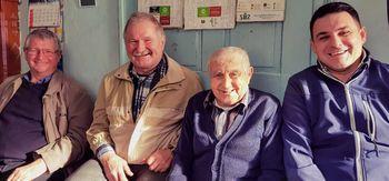 Naš najstarejši član je praznoval 90 let !