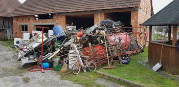 Zbrana sredstva od akcije zbiranja starega železa bodo namenili za obnovo gasilskega doma