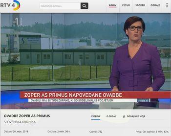 Prenova stare šole na Logu na RTVSLO