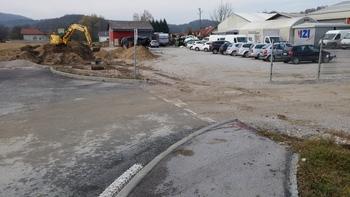 Občina Mengeš nadaljuje z urejanjem komunalne infrastrukture, sedaj na dveh območjih M52 in M53 (območje bivše tovarne Tamiz)