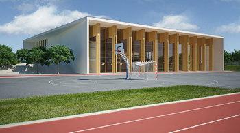Priprave za gradnjo Športne dvorane Mengeš