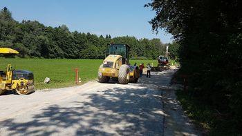 Obnova ceste Loka pri Mengšu - Dobeno