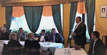 Seja predsedstva Skupnosti občin Slovenije v Občini Mengšu, na Mengeški koči
