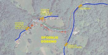 Na Dobenu bo še v letošnji gradbeni sezoni obnovljen vsaj del ceste na spodnjem Dobenu