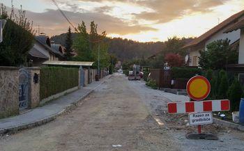 Rekonstrukcija vodovoda in kanalizacije na Janševi ulici