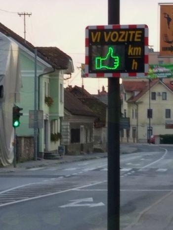 V Občini Mengeš na Slovenski cesti za večjo varnost najbolj ogroženih udeležencev v prometu postavljena dva merilca hitrosti