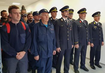 Slavnostna otvoritev novih prostorov Civilne zaščite občine Mengeš