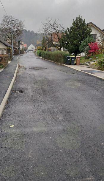 V gradbeni sezoni 2018 zaključena sanacija vodovoda in kanalizacije na Šubljevi in Janševi ulici, cestišče bo dokončno preplasteno spomladi