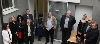 Slavnostna otvoritev novih prostorov razvojne ambulante v Zdravstvenem domu Domžale