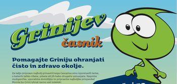 Javno komunalno podjetje Prodnik z Grinijem vzgaja najmlajše o načinu in pomenu ravnanja z odpadki in varovanja vodnih virov
