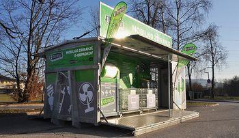 Za recikliranje večjih elektronskih naprav poleg ustaljenega zbiranja nevarnih odpadkov in oddaje v zbirnem centru Dob tudi mobilne enote