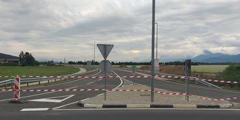 Manjkajoči del obvoznice v občini Mengeš asfaltiran