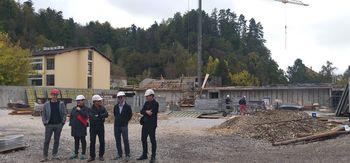 Ogled gradbišča in načrtov za gradnjo Športne dvorane Mengeš uspešen, nepovratna sredstva ministrstva pristojnega za šport bodo izplačana še v letu 2019