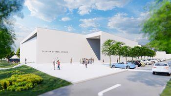 Predstavljamo končno podobo Večnamenske športne dvorane Mengeš