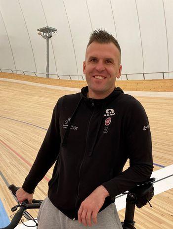 Josip Radakovič, trener mladincev v KK Adria Mobil o kolesarski dirki za Veliko nagrado Občine Mengeš in kolesarstvu v Sloveniji