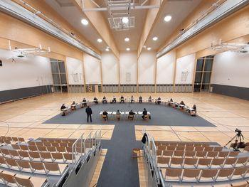 Seja Občinskega sveta Občine Mengeš v novi športni dvorani