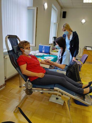 Uspešno izvedena krvodajalska akcija