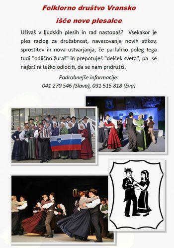 Folklorno društvo vransko