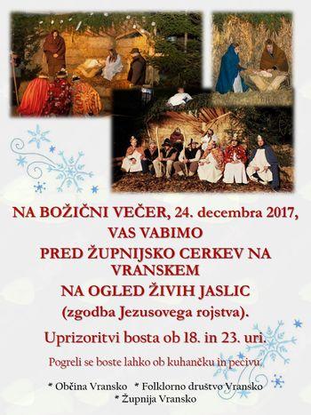 ŽIVE JASLICE, 24. 12. 2017