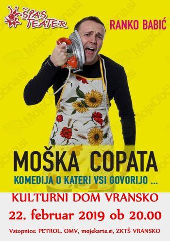 MOŠKA COPATA, Ranko Babić