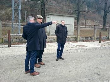 Državni sekretar Leben na delovnem obisku v Borovnici