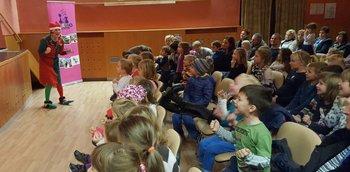 Otroški gledališki abonma v Črenšovcih - RUDOLF IN PRAZNIČNE KREMŠNITE