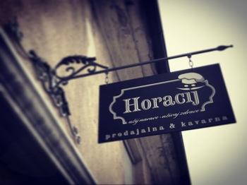 Otvoritev - Horacij prodajalna & kavarna
