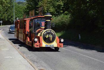 Vodena krožna vožnja s turističnim vlakcem