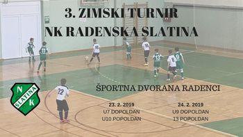 3. zimski turnir NK Radenska Slatina