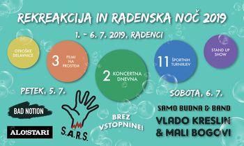 Rekreakcija in Radenska noč 2019
