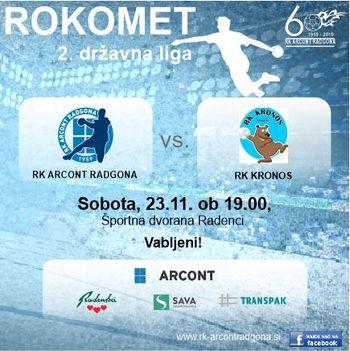 RK Arcont - RK Kronos (člani)
