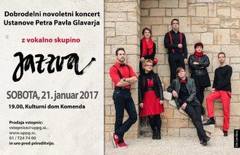 Jazzva na novoletnem koncertu v Komendi