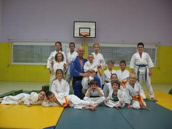Naši najmlajši člani ŠDBV AIkido klub Duplek pridobili višji KYU