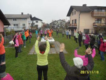 Tretja obletnica Šole zdravja, skupine Mali Mengeš