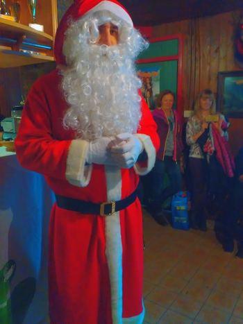 Obisk Božička z igrico