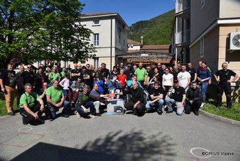 Dobrodelna akcija motoristov za CIRIUS Vipava