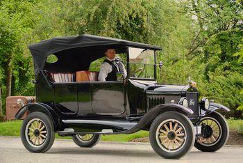 Markov leseni Ford T je zasijal