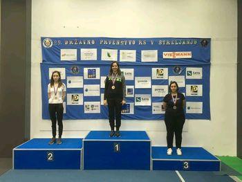 Katarina FEVŽER osvojila 2.mesto