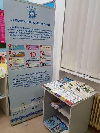 """Dom Hmelina odprl """"Demenci prijazno točko"""" v Zdravstvenem domu Slovenj Gradec in v Zdravstveni postaji Mislinja"""