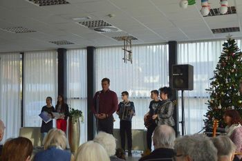Rotary club Slovenj Gradec polepšal dan našim stanovalcem
