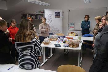 Kvačkanje in klekljanje na Ljudski univerzi Ajdovščina