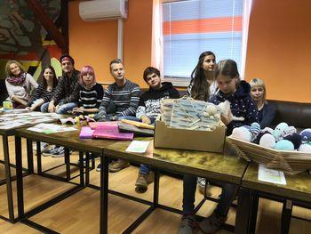 Pumovci v Slovenj Gradcu pomagali zapuščenim živalim